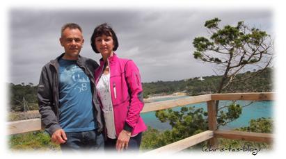 Wir zwei im Naturpark Mallorca