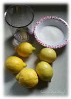 Zitronenlimonade herstellen