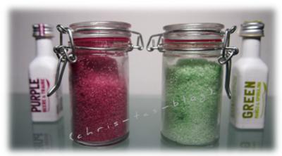 Zucker mit Eat a Rainbow einfärben