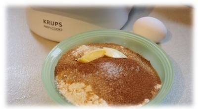 Zutaten Apfel-Haselnuss-Muffin