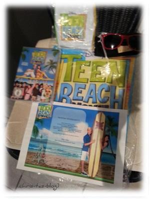 Disney Teen Beach-Fan-Set