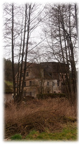 Alte Mühle entdeckt