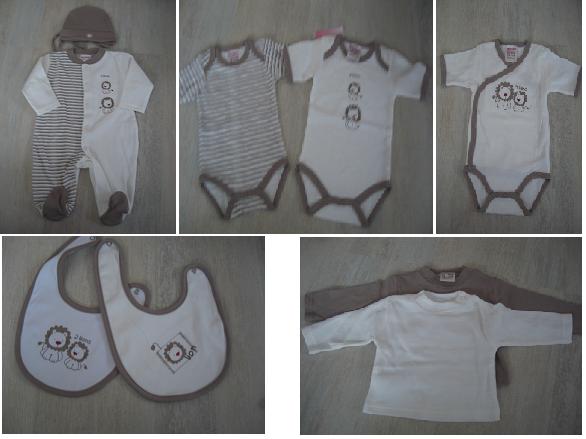 Baby Bodies, Baby Lätzchen, Baby Langarmshirts