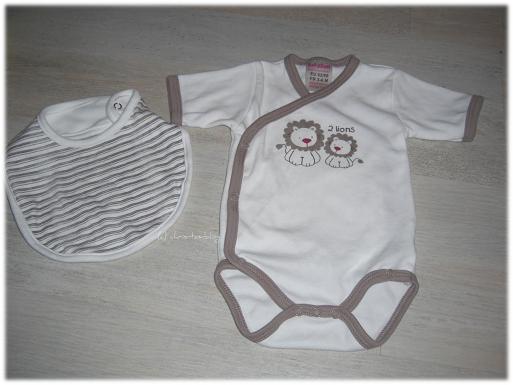 Baby Kleidung nach dem Waschen