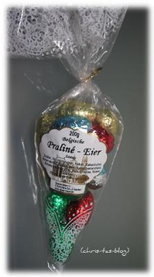 belgische Praline-Eier