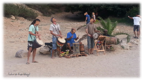 Trommler Cala Benirrás Ibiza