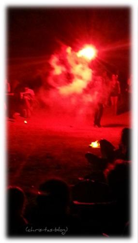 Benirras Feuershow