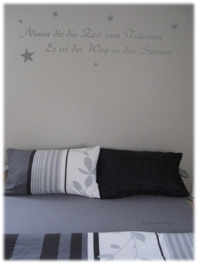 meine neue Bettwäsche