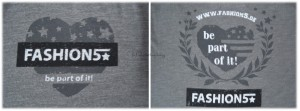 Labels auf meinem neuen Shirt