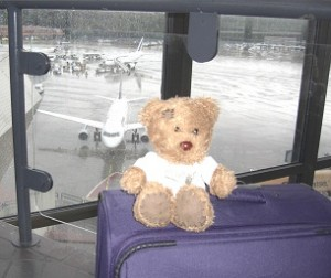 bloggi am Flughafen Berlin-Tegel