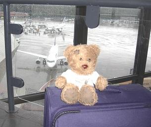 bloggi am Flughafen