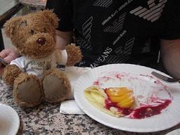 bloggi beim Mittagessen im KaDeWe