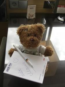 bloggi schreibt Janett eine Nachricht