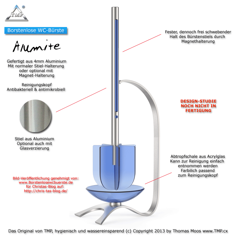 Borstenlose-WC-Bürste-luxury-Alumite-blau