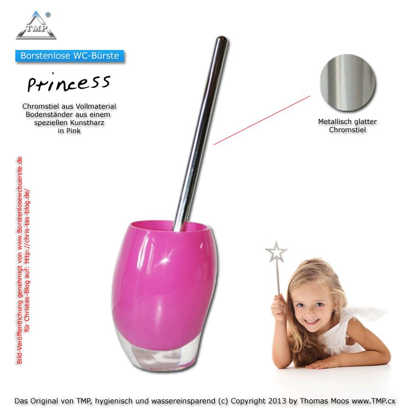 Borstenlose WC-Bürste-exclusive-Princess