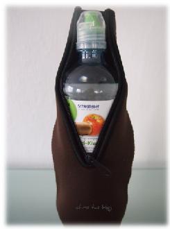 auch für Wasserflaschen sind die cool bottles Kühlhüllen gut geeignet