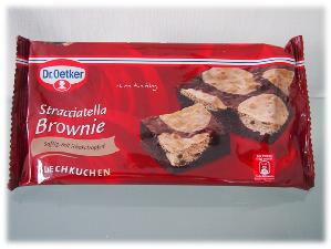 Dr. Oetker Stracciatelle Brownie