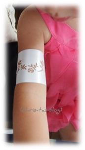 Tattoo-Schablone für Airbrush-Set