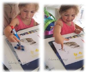 Virginia und das Orbis Airbrush-System für Kinder