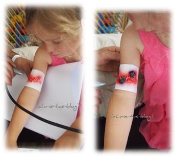 Tattoos für Kinder mit Orbis Airbrush-Set