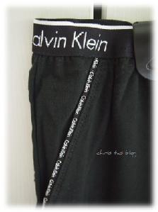 Details an meiner Lounge-Hose von Calvin Klein
