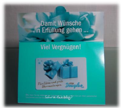 Parfümerie Gutschein