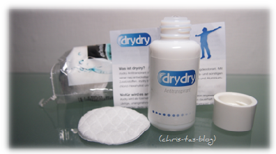 drydry™ gegen starkes Schwitzen