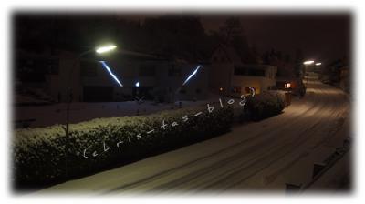 erneuter Schneefall am 03.01.2015