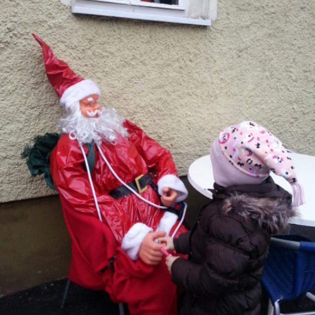 Santa claus is in town #santaclaus #weihnachten #christmas # Weihnachtsmann