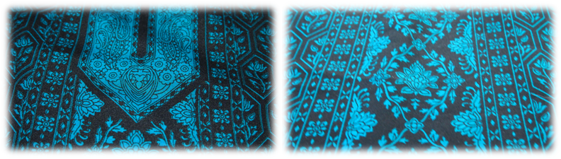 Maharanis Tunika filigranes Muster