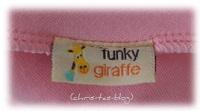 funky giraffe Halstuch-Lätzchen