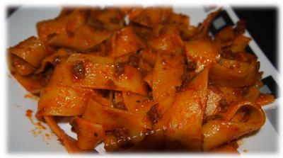 gerührt & verführt Pasta Bolognese