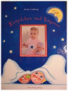 Bucheinband Knöpfchen und Virginia von my-own-story