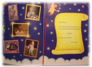 Bucheinband und Widmung frei gestaltbar im personalisierten Kinderbuch