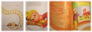 Auszüge des personalisierten Kinderbuches von my-own-story