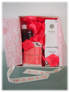 Inhalt der Glossybox Wedding Edition