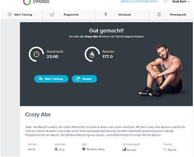 gymondo.de - Crazy Abs Workout