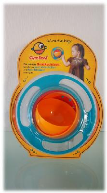 Gyrobowl: eine tolle Snackschüssel für Kinder