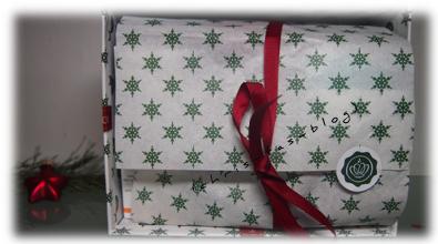 hübsche Verpackung der Glossybox Winter Moments