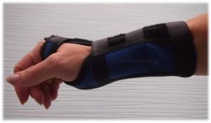 Handgelenksbandage nach Entzündung tragen