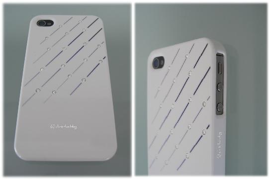 iphone 4s Cover mit Straßsteinchen