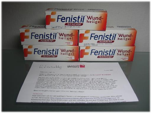 Fenistil® Wundheilgel im Test