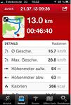 13 km mit dem Bike geradelt