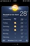 Temperaturschwankungen
