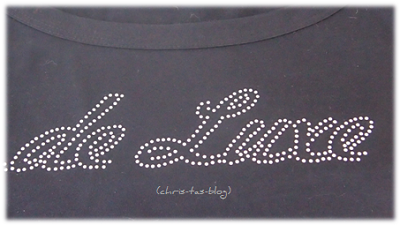 hot fix Swarovski Elements auf Shirt