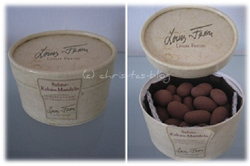 hussel die Sahne-Kakao-Mandeln Pralines
