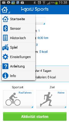 i-gotU Pulsmesser mit Smartphone verbinden