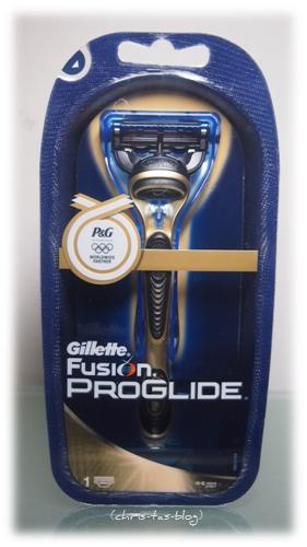 im Test der Gillette Fuion Proglide Gold Edition