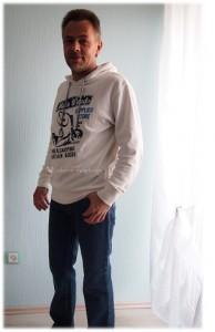 Mein Mann hat endlich online eine Jeans kaufen können