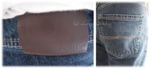 Taschen an der Jeans
